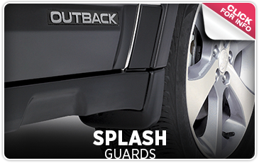 Learn more about genuine Subaru splash guards in Salem, OR