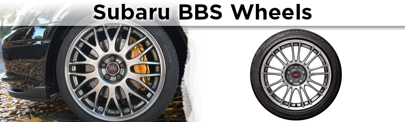 Subaru STI BBS wheels available in Salem, OR