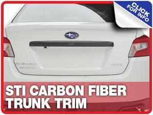Browse our STI Carbon Fiber Trunk Trim information at Capitol Subaru of Salem