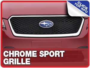 Click to view our chrome sport grille  information at Capitol Subaru in Salem, OR