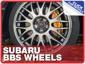Click to learn more about genuine Subaru performance parts like STI BBS wheels available at Capitol Subaru in Salem, OR