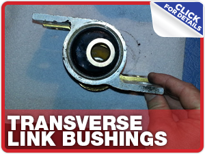 Click to learn more about genuine Subaru performance parts like STI transverse link bushings available at Capitol Subaru in Salem, OR