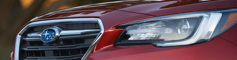 Subaru Headlamp Polish Restoration Service Information