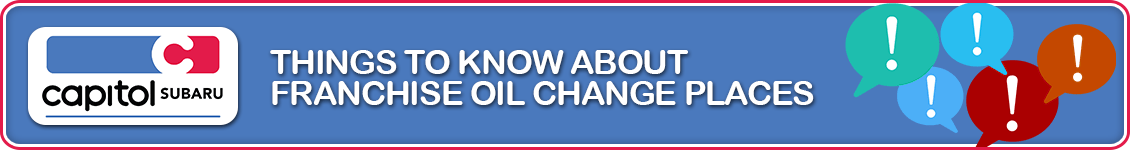 Cheap Oil Change Places Near Me >> 3 Facts About Quick Lube Oil Change Places By Capitol Subaru