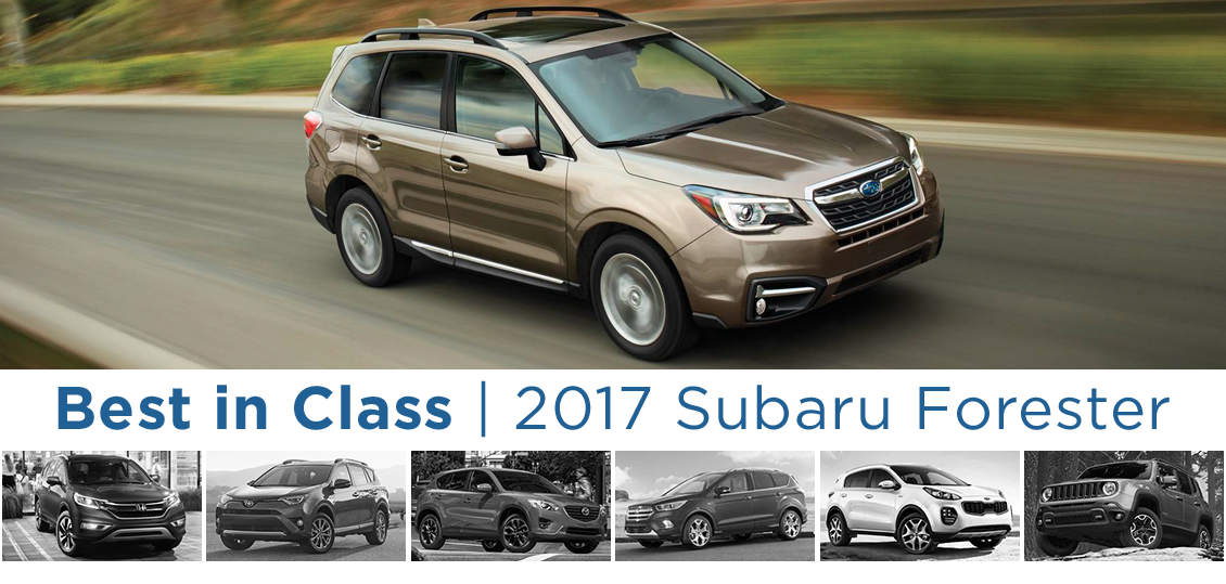 The New 2017 Subaru Forester - Best SUV in class in Salem, OR