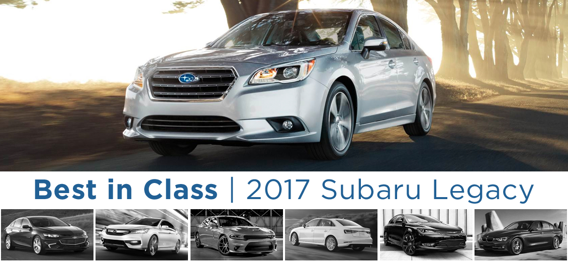The New 2017 Subaru Legacy - Best sedan in class in Salem, OR