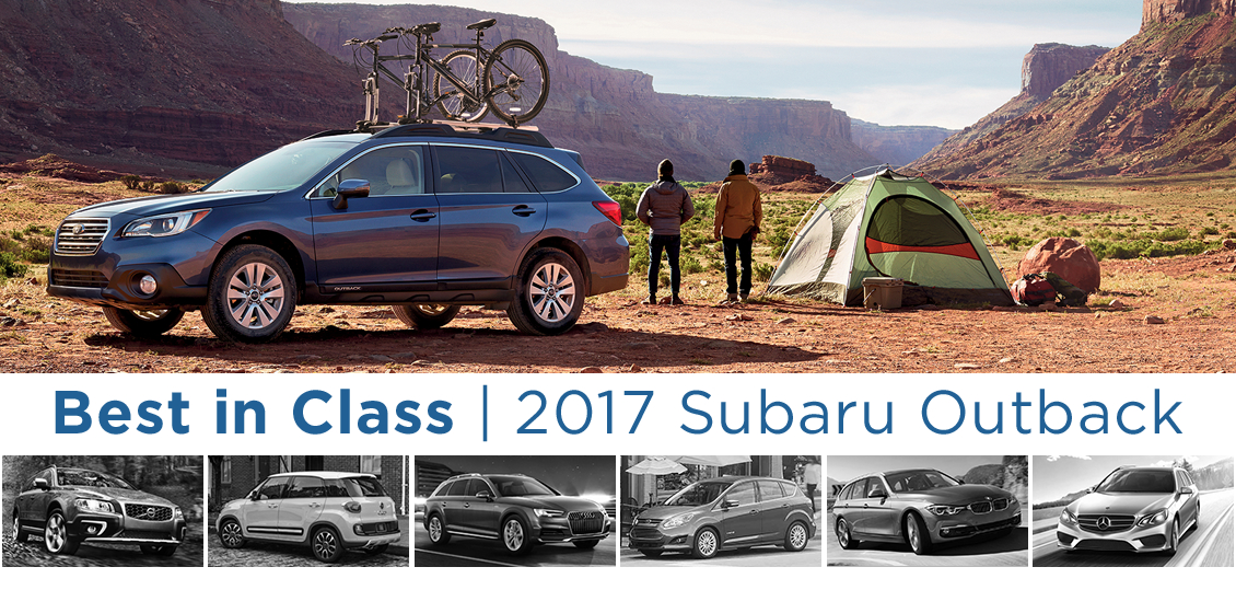 The New 2017 Subaru Outback - Best wagon in class in Salem, OR
