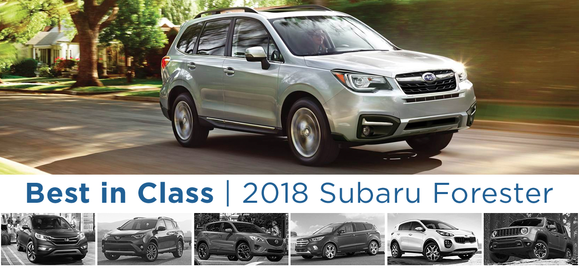 Best In Class Suv 2018 Subaru Forester Comparison Salem Or