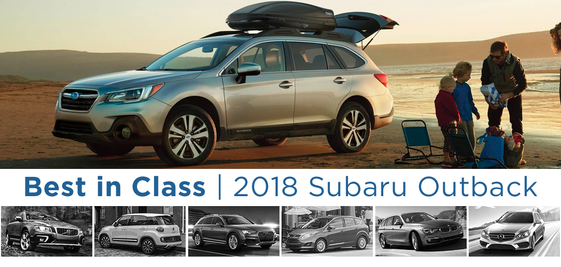 Best Subaru Outback Year >> Best In Class Wagon 2018 Subaru Outback Comparison Salem Or