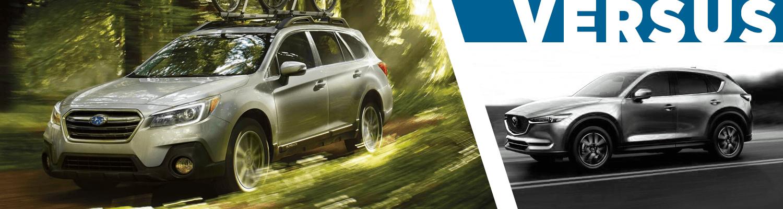 Capitol Subaru Salem Oregon >> Compare New 2018 Subaru Outback vs Mazda CX-5 Features ...
