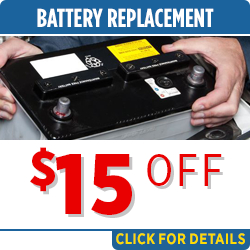 Click to save with our battery replacement & installation service special in Salem, OR
