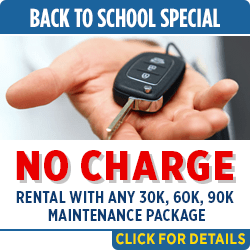 Click to save with our complimentary rental car service special in Salem, OR