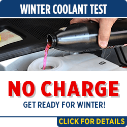 Click to save with our complimentary winter coolant test service special in Salem, OR