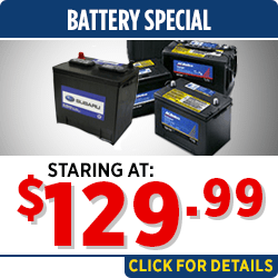 Browse our battery parts special at Capitol Subaru of Salem