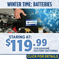 Browse our genuine Subaru Car Battery Replacement parts special at Capitol Subaru of Salem