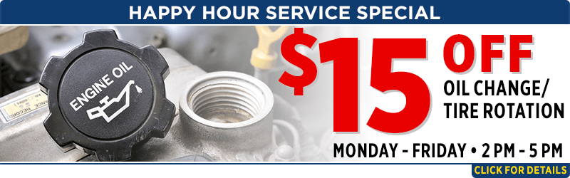 Happy Hour Service Special at Capitol Subaru of Salem