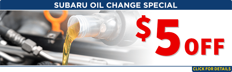 Click for oil change service special at Capitol Subaru of Salem