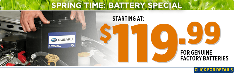 Click to view our winter time battery parts special at Capitol Subaru of Salem