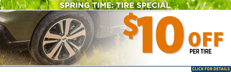 Click to browse our spring tires parts special at Capitol Subaru of Salem