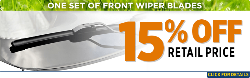 Click to browse our one set of front wiper blades parts special at Capitol Subaru of Salem