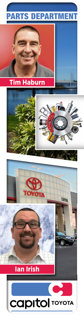 Capitol Toyota Parts & Accessories Department in Salem, Oregon