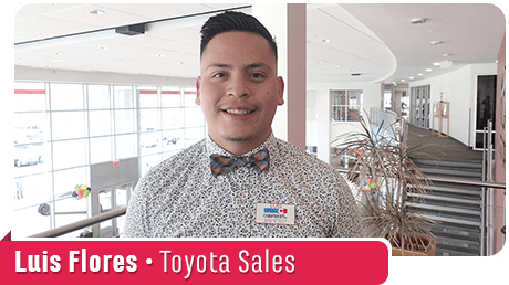 Luis Flores, Toyota Sales at Capitol Toyota in Salem, OR