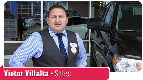 Victor Villalta Fluent Spanish Sales Professional at Capitol Toyota in Salem, OR