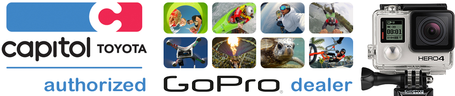 Authorized GoPro Dealer at Capitol Toyota Parts