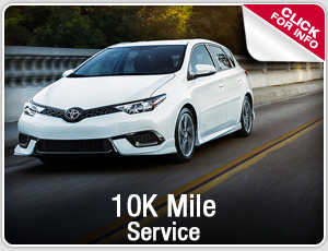 Click to research our Toyota 10k mile service in Salem, OR