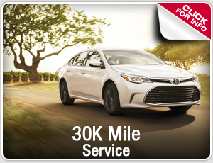 Click to research our Toyota 30k mile service in Salem, OR