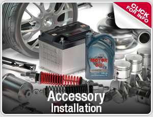 Click to research our Toyota accessory intallation service in Salem, OR