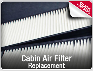 Cabin air filter replacement service information from Capitol Toyota in Salem, OR