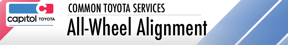 Learn more about all-wheel alignment service at Capitol Toyota in Salem, OR