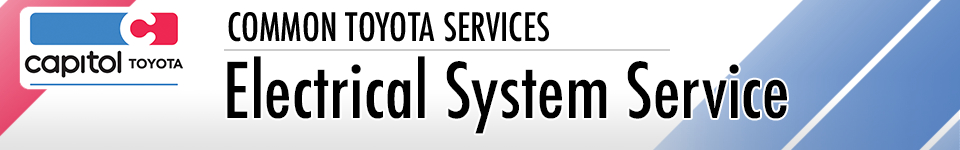 Toyota Electrical System Service Salem, OR