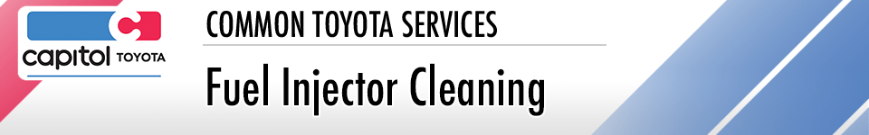 Fuel Injector Cleaning Service Information at Capitol Toyota in Salem, OR