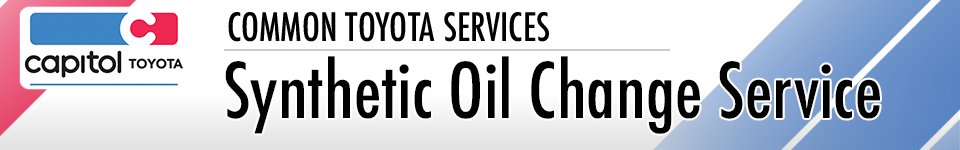 Learn more about our Toyota Synthetic Oil Change Service serving Salem, OR