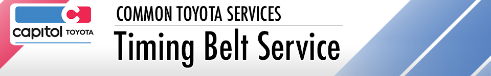 Learn more about our Toyota Timing Belt Replacement service serving Salem, OR