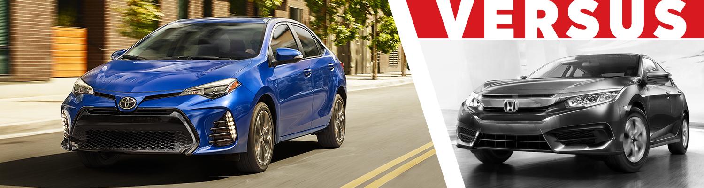 Corolla Vs Civic 2017 >> 2017 Toyota Corolla Vs Honda Civic Model Model Research