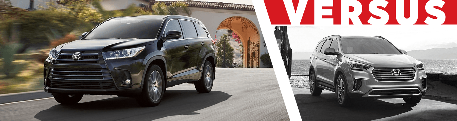 Compare the 2018 Toyota Highlander & 2018 Hyundai Santa Fe models at Capitol Toyota of Salem