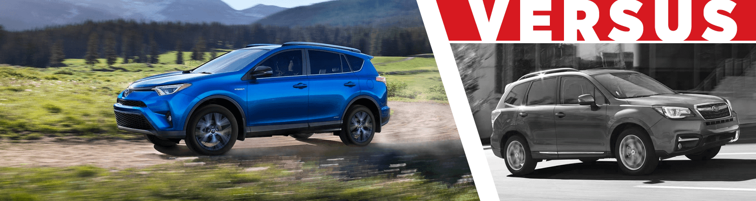 Compare the 2018 Toyota RAV4 & 2018 Subaru Forester models at Capitol Toyota of Salem