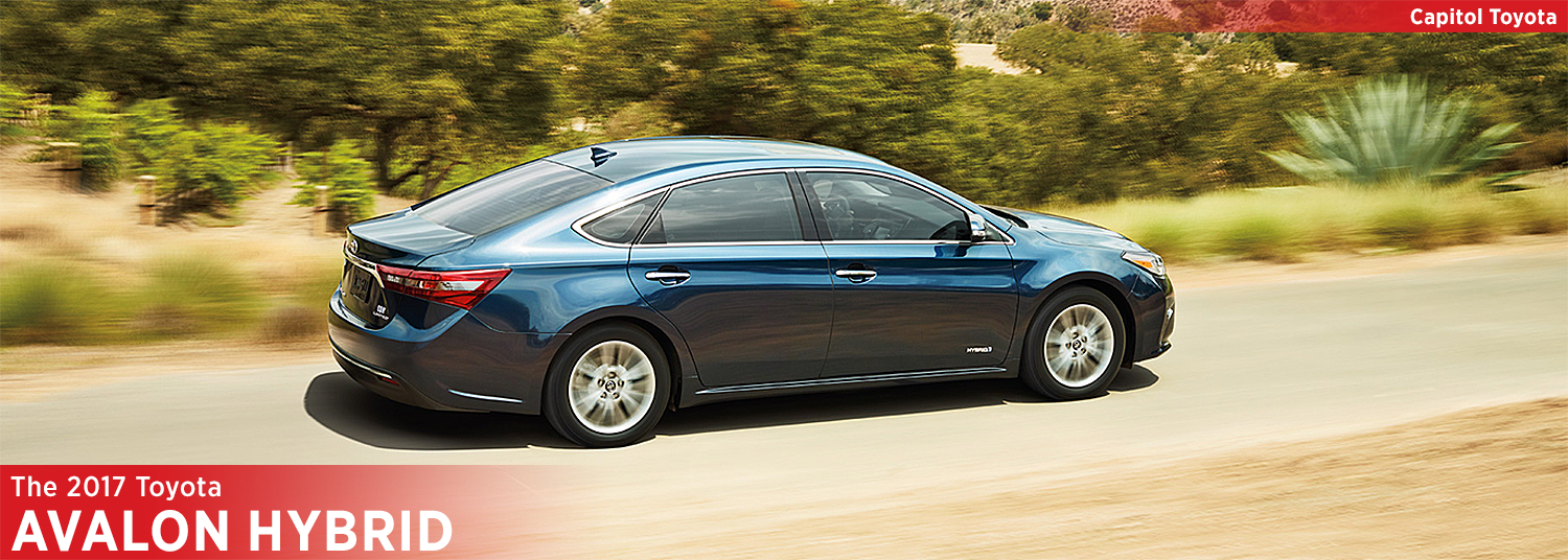2017 Toyota Avalon Hybrid Model Information and Features