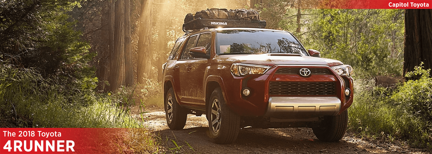 Research the 2018 4Runner model at Capitol Toyota in Salem, OR