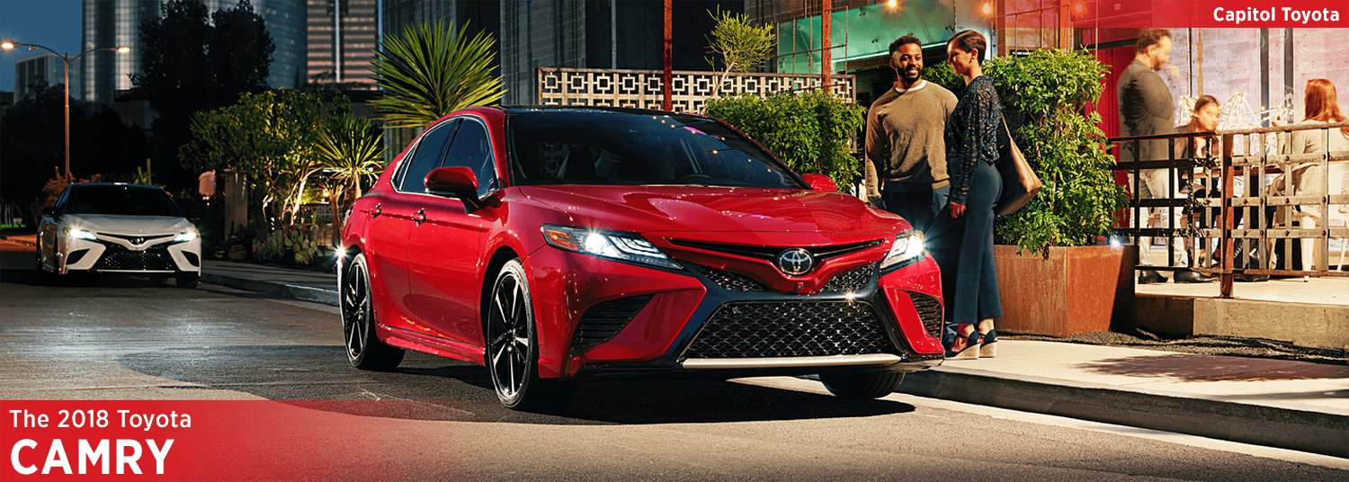 2018 Toyota Camry Model Information in Salem, OR