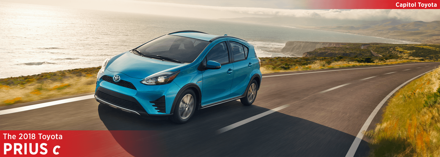 Research the  2018 Prius c model at Capitol Toyota in Salem, OR
