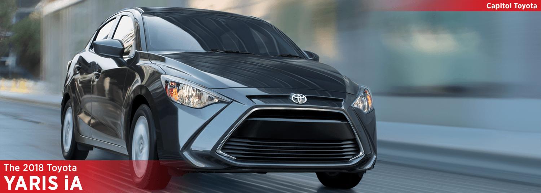 2018 Toyota Yaris Ia Model Sporty Subcompact Car Research