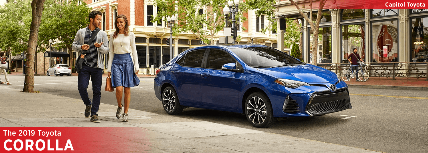 The 2019 Toyota Corolla Compact Sedan Model Features For - new model of toyota corolla