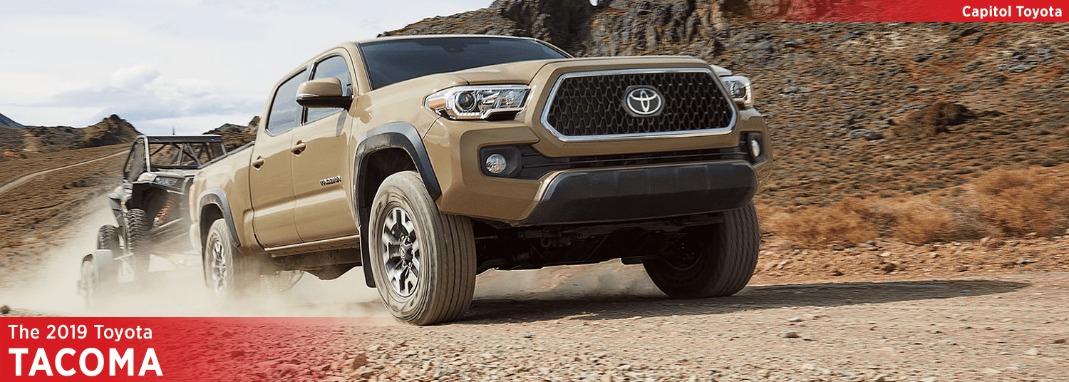 The 2019 Toyota Tacoma Midsize Pickup Truck Features For Salem Or