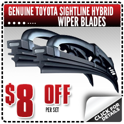 Click to see how much you can save with this special offer on Toyota Sightline Hybrid Wiper replacement service at Capitol Toyota in Salem, OR