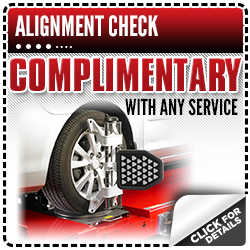 Click to view our Toyota alignment check service special in Salem, OR