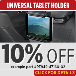 Click to View Our Toyota Universal Tablet Holder Parts Special in Salem, OR